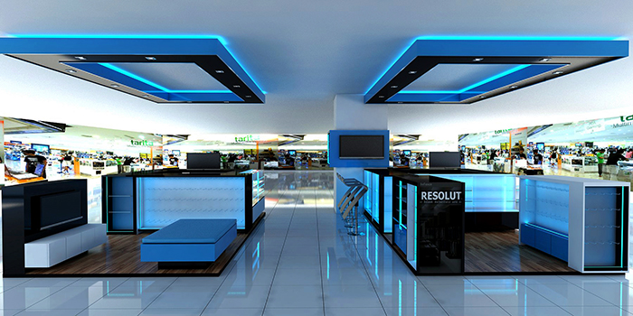 D Mall Kiosk